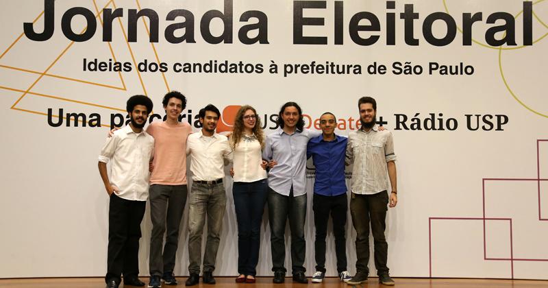 Jornada Eleitoral, uma parceria USP Debate e Rádio USP - Foto: Cecília Bastos/USP Imagens