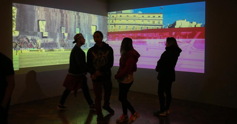 Exposição Cinema Lascado com Giselle Beiguelman _ Foto: Cecília Bastos/USP Imagens