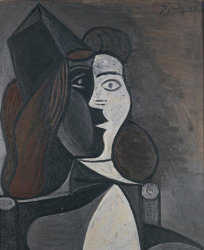 Pablo Picasso: Figuras, 1945 - Foto: Divulgação/MAC