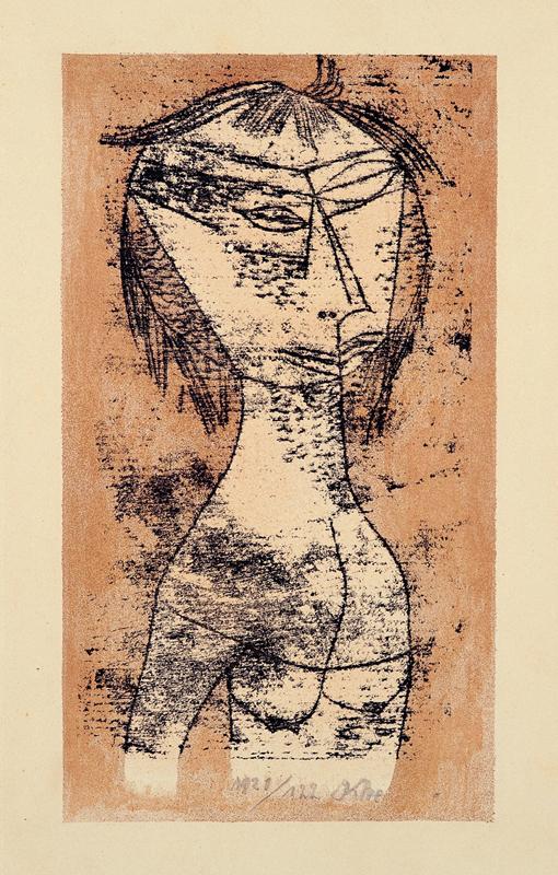 Paul Klee: A Santa da Luz Interior, 1921 - Foto: Divulgação/MAC