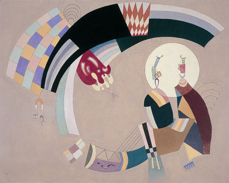 Wassily Kandinsky: Composição Clara, 1942
