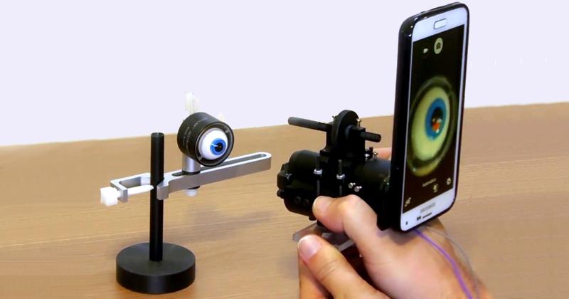 Protótipo do retinógrafo portátil: projeto será apresentado em Berlim em novembro - Foto: Divulgação/Phelcom