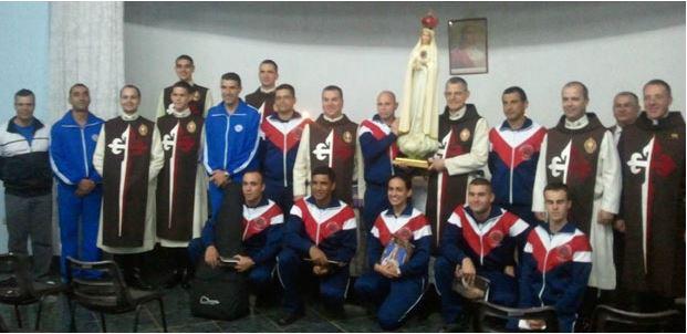 Reunião dos policiais católicos - Foto: Site oficial do grêmio católico