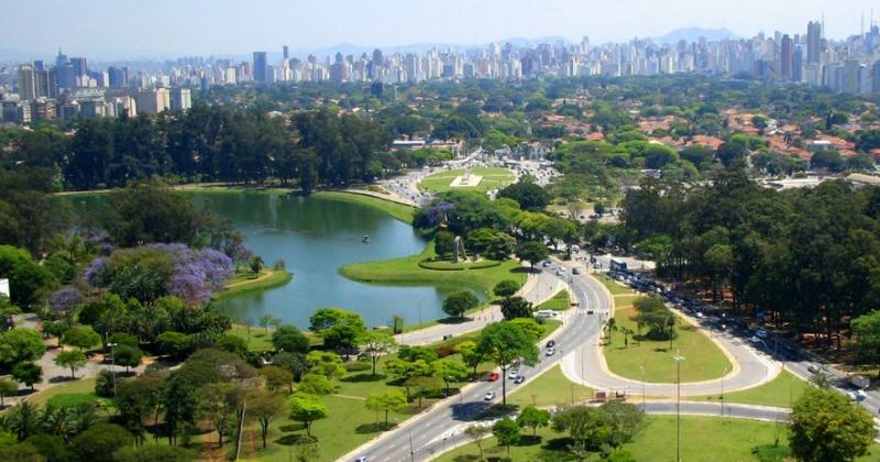Parque do Ibirapuera, em São Paulo - Foto: Wikimedia Commons