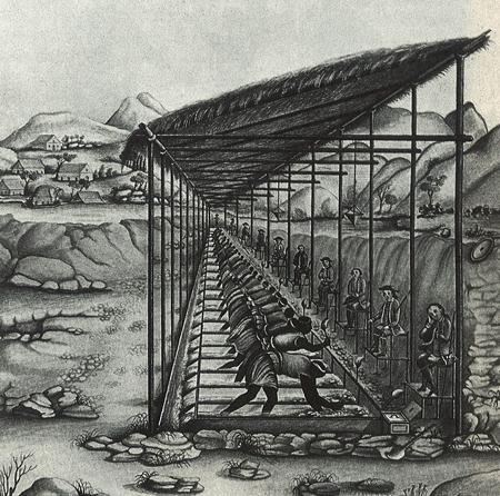 Carlos Julião - Serro Frio, 1780 - Foto: Reprodução