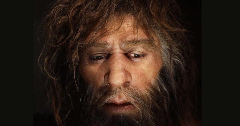 Entre 100 e 50 mil anos atras, a espécie humana adquiriu a capacidade de expressar ideias e conceitos através de palavras – Foto: Neanderthal Museum