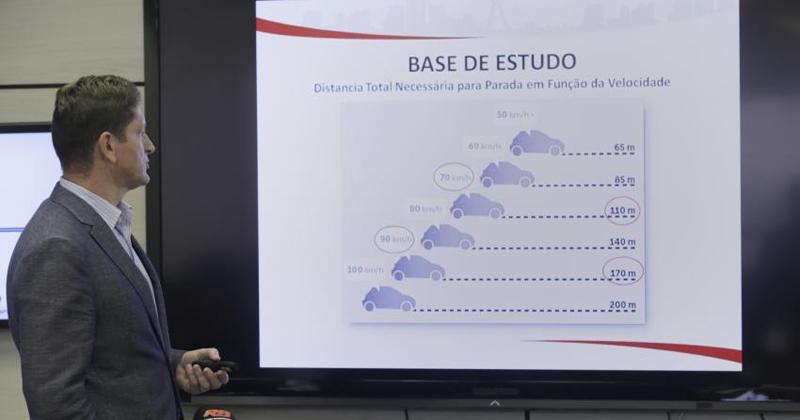 Apresentação do estudo que motivou a redução da velocidade nas Marginais - Foto: Cesar Ogata/Secom via Fotos Públicas