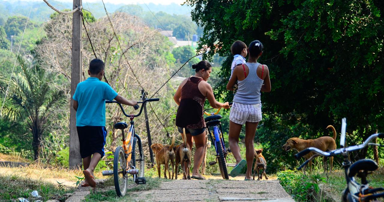Expedição Ribeirinhos em Calama. Foto: Denise Guimarães/USP Imagens