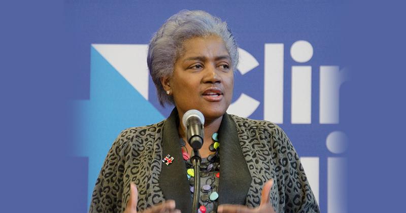 Campanha de Donna Lease Brazile para Hillary Clinton em Nassau - Foto: Tim Pierce via Wikimedia Commons