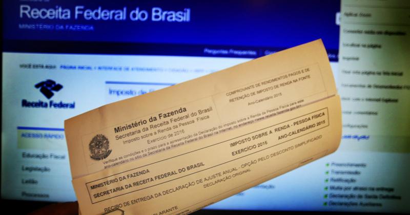 Entrega do imposto de renda - Foto: Fernanda Carvalho via Fotos Públicas