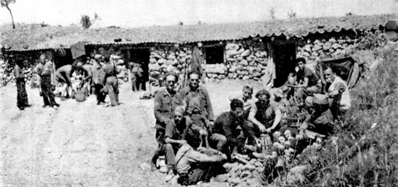 Batalhão Etkar André das Brigadas Internacionais 1936 - Foto: Wikipédia
