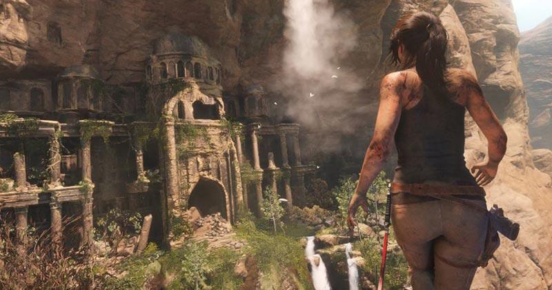 Jogo Lara Croft - Foto: Reprodução