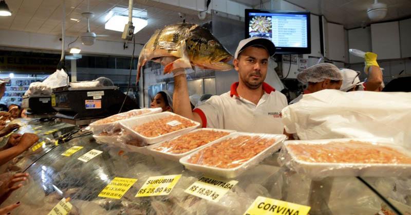 Mercado de peixe - Foto: José Cruz/Agência Brasil