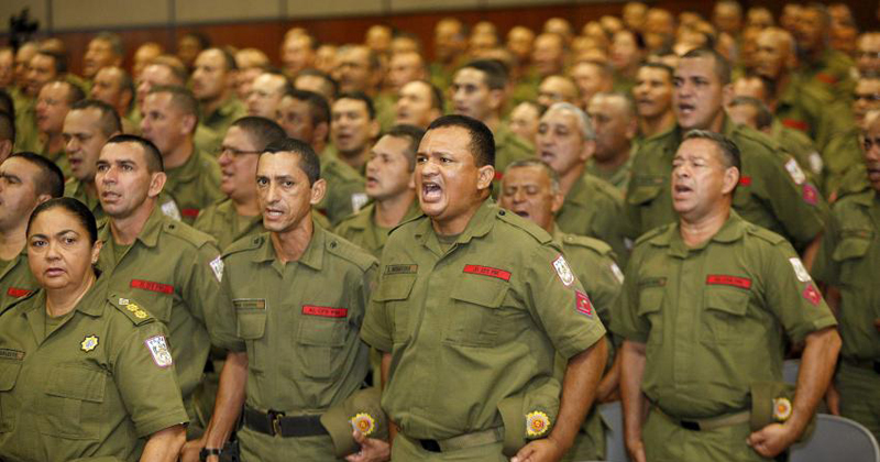 As mulheres sofriam discriminação desde o ingresso na carreira. Em 2011, o efetivo das policiais militares era inferior a 12% - Foto: Thiago Araújo/Ag. Pará via Fotos Públicas