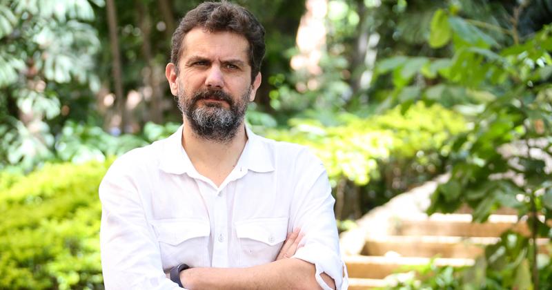 Carlos Sandano: discussões sobre o futuro do jornalismo - Foto: Cecília Bastos/USP Imagens