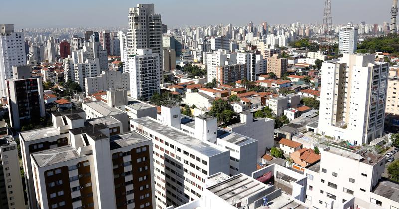 Prédios da cidade de São Paulo - Foto: Cecília Bastos/USP Imagens