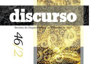 """Lançada nova edição da revista """"Discurso"""", do Departamento de Filosofia"""