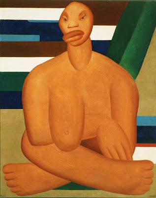 A Negra, obra de Tarcila do Amaral - Reprodução