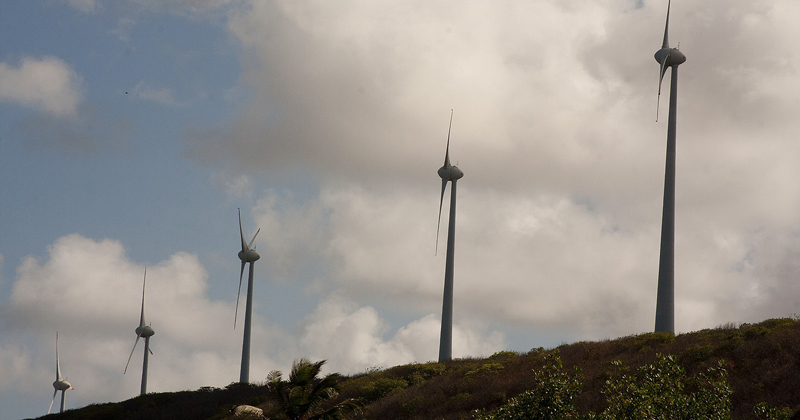 Energia Eólica - Foto: Marcos Santos/USP Imagens