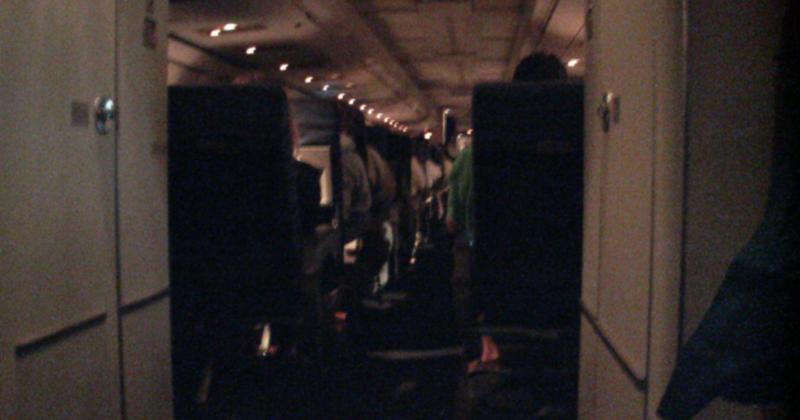 O medo de viajar de avião pode causar a sensação de pânico em muitas pessoas - Foto: Alexander Wrege via Visual Hunt
