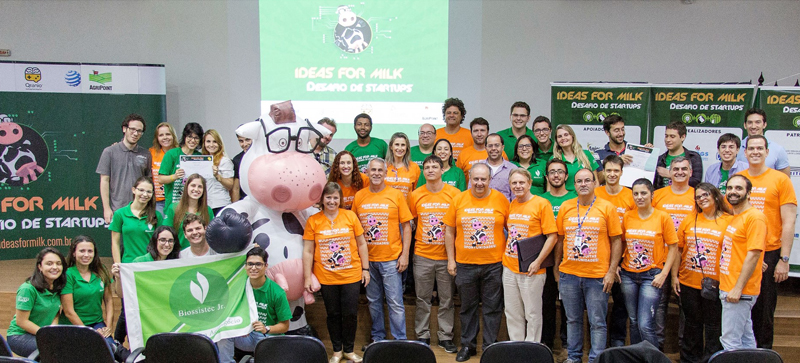 Participantes da final local do Ideas for Milk, realizada dia 28 de novembro em São Carlos - Foto: Renan Alcântara