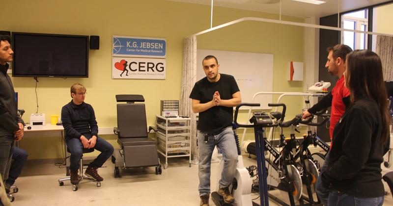 As parcerias desenvolvem pesquisas para maior entendimento dos efeitos da atividade física a nível fisiológico, celular e molecular - Foto: Divulgação EEFE