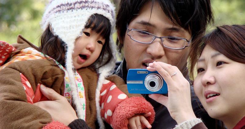 Nas ruas, a paixão dos japoneses por fotografar - Foto: Joel La Laina Sene
