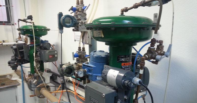Créditos: Planta-piloto simula vazão de líquidos em laboratório da Poli – Foto: Assessoria de Comunicação da Poli