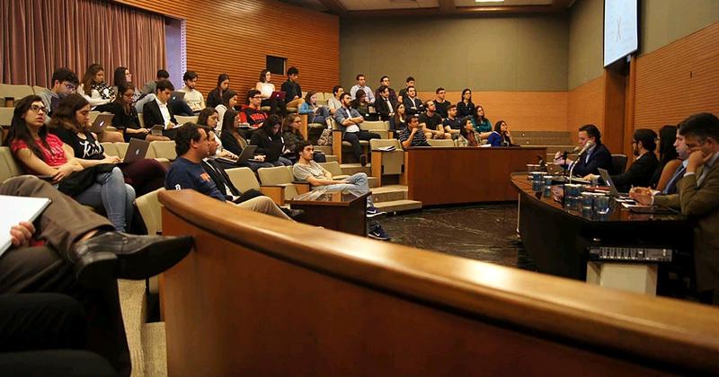 Evento_SanFranJR - Congresso Acadêmico organizado por membros da SanFran Jr., em outubro de 2016 - Foto: Reprodução