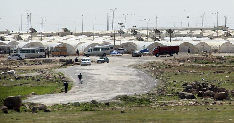 Suruc, maior campo de refugiados da Turquía - Foto: Vladimir Platonow/Agência Brasil