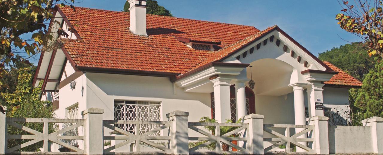 Construída em 1928, a casa em estilo alemão apresenta xilogravuras de diversos países – Foto: Divulgação Museu Casa da Xilogravura
