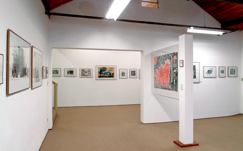 O acervo reúne xilogravuras de artistas do Brasil e de diversos países – Foto: Divulgação Museu Casa da Xilogravura
