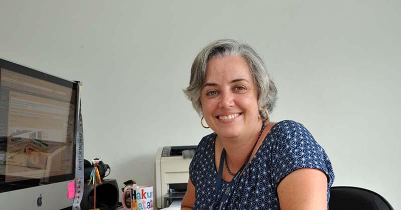 cia Blasques, chefe da Divisão de Mídias On-line da SCS - Foto: Cecília Bastos/USP Imagens