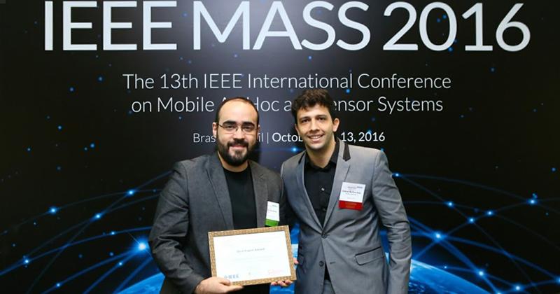 Daniel da Silva é um dos autores reconhecidos pelo artigo no 13th IEEE - Foto: Divulgação PCS