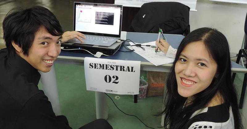 Cássio Sakayanagui e Letícia Li Koga, dupla desenvolvedora ao lado do projeto Marc - Foto: Divulgação