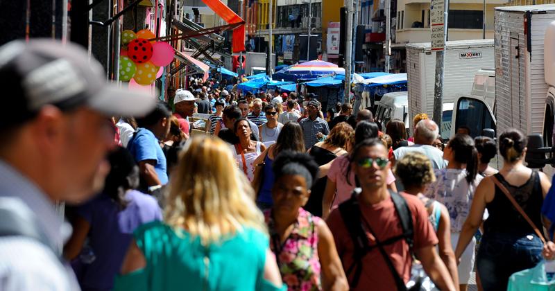 São Paulo: 12, 04 milhões de habitantes – Foto: Marcos Santos/USP Imagens