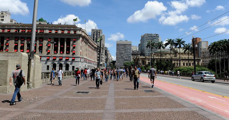 Cidade construída pelos imigrantes – Foto: Foto: Marcos Santos/USP Imagens