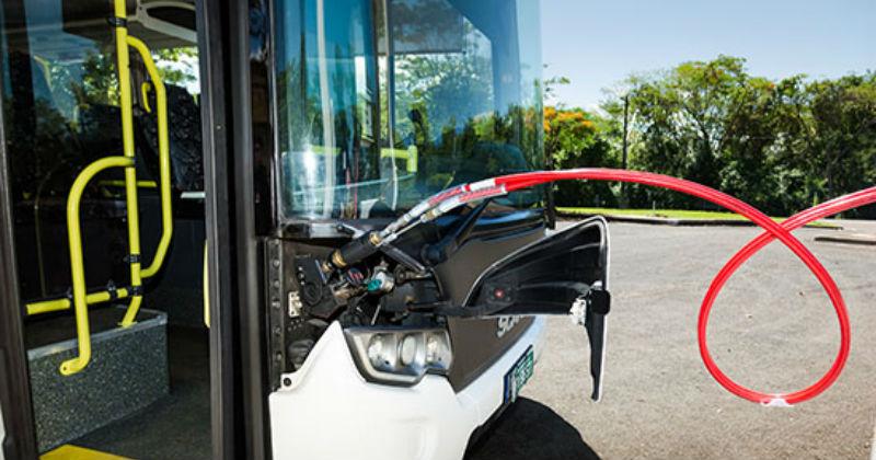 Ônibus movido a biometano -Foto: Divulgação/Itaipu