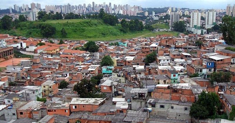 Favela Jaqueline, no bairro de Vila Sônia, em São Paulo - Foto: Wikimedia Commons
