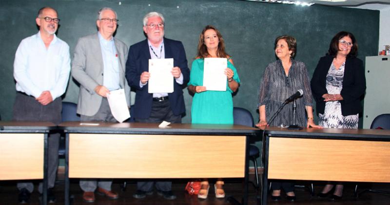 A assinatura do termo de cooperação foi realizada na sede da Escola Municipal de Astrofísica (EMA), no Parque do Ibirapuera - Foto: Ernani Coimbra