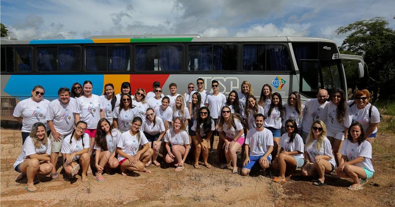 Equipes de fonoaudiologia e odontologia do Projeto FOB USP em Rondônia, na cidade Monte Negro - Foto: Cecília Bastos/USP Imagens
