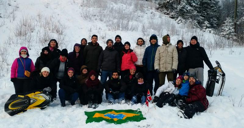 Pesquisadores brasileiros foram à cidade de Trondheim, na Noruega, para participar da segunda edição do Seminário UTFORSK - Foto: Divulgação EEFE