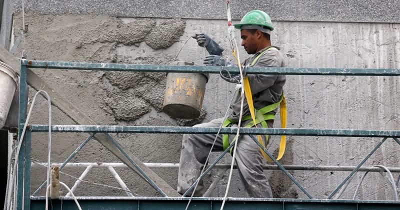 Construção civil: O desperdício na construção civil vai desde 8% com materiais até 30% com custo de retrabalho - Foto: Cecília Bastos/USP Imagens