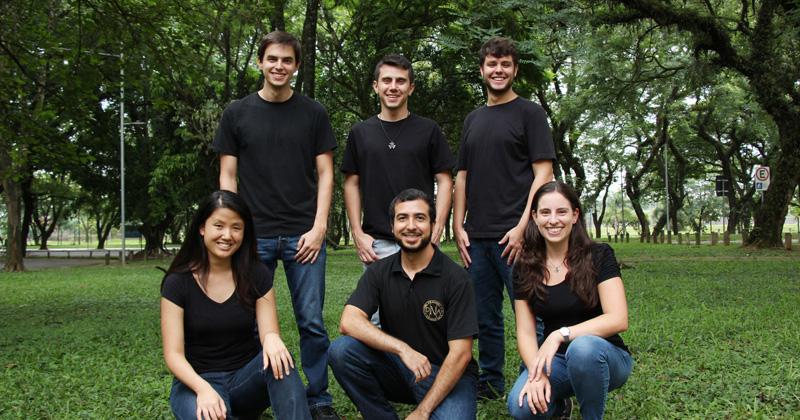 Alunos de Engenharia de Minas formam a equipe USP Mining Team - Foto: Divulgação
