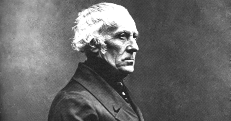 François Guizot: expressão do pensamento conservador francês do século 19 - Foto: Reprodução