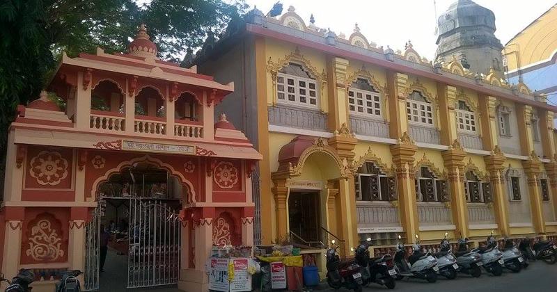 Templo hindu também localizado em Pangim Foto: Arquivo pessoal/Duarte Drumond Braga