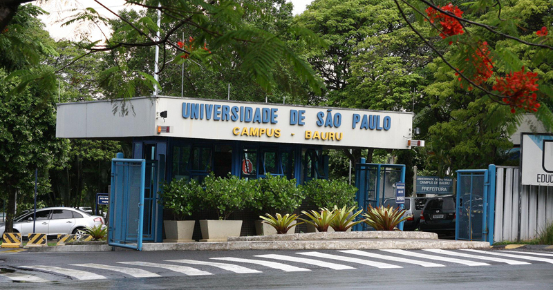 Na semana de recepção aos calouros Campus de Bauru faz campanha de arrecadação de alimentos - Foto: Marcos Santos/USP Imagens