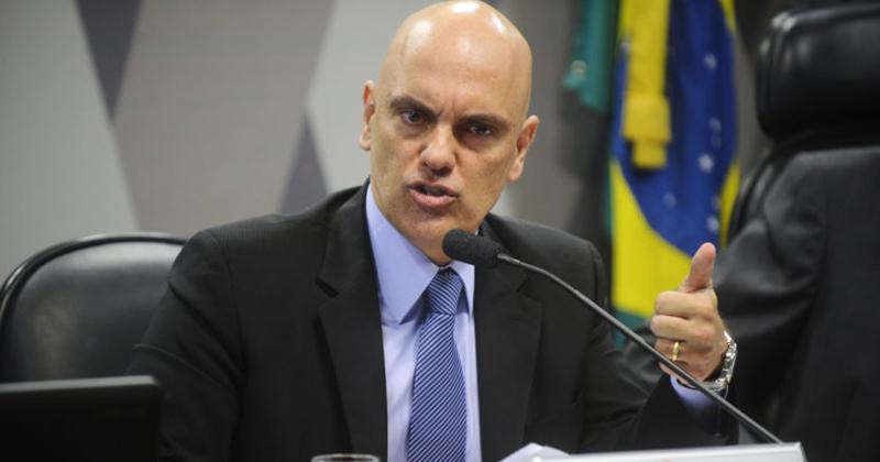 A Comissão de Constituição, Justiça e Cidadania sabatina Alexandre Moraes para o cargo de ministro do Supremo Tribunal Federal (STF) - Foto: Marcos Oliveira / Agência Senado