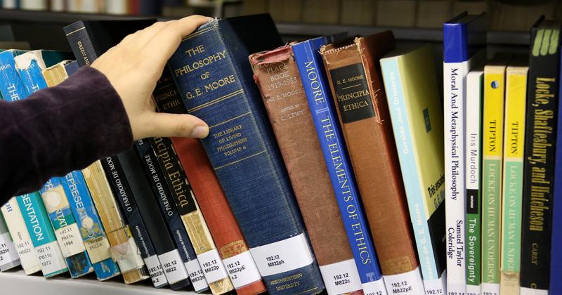 Biblioteca da FFLCH/USP - Foto: Marcos Santos/USP Imagens