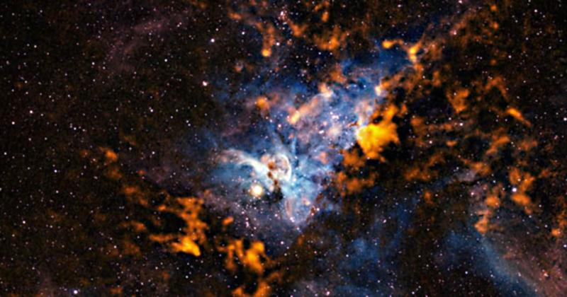 Carina Nebula (ESO/APEX/T. Preibisch et al., N. Smith, University of Minnesota/NOAO/AURA/NSF)